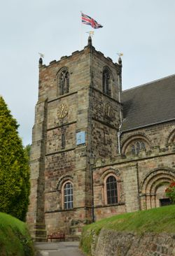 St Mary's Priory Church, Tutbury