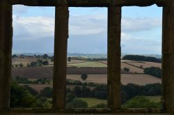 View from Hardwick Old Hall Wallpaper