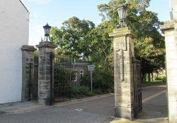 St Salvators Hall Gates