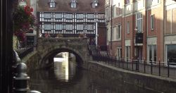 River Witham, centre of Lincoln