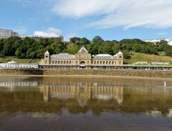 Reflections on the Spa Scarborough