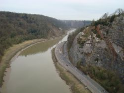 Avon Gorge from the Suspension Bridge