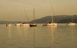 Evening glow on Windermere