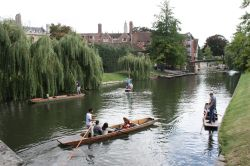 River trip at Cambridge
