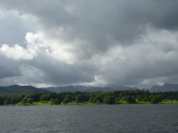 Windermere and it's brooding clouds.