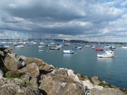 Brixham Outer Harbour.