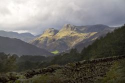 Langdale Pikes from Loughrigg 2