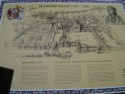Richmond Palace information board