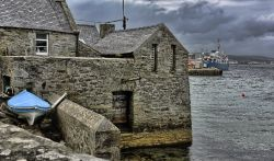 Lodberry house, Lerwick, Shetland Isles
