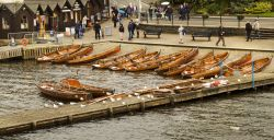Bowness rowing boats