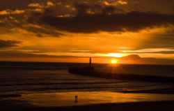 November Sunrise over Roker Pier
