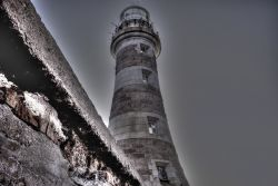 Dominant Lighthouse At Roker