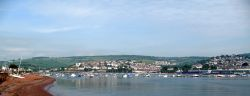 Panorama from Shaldon beach