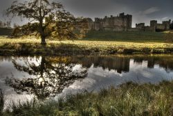 Late Autumn at Alnwick Castle