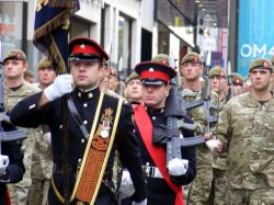 Royal Royal Anglian Regiment home coming from Iraq