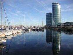 The Quays at Chatham Maritime Marina.