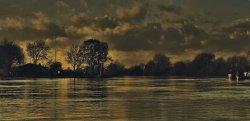 Trent Evening at Trent Lock, Long Eaton