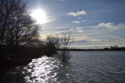 Boddington Reservoir in Northamptonshire