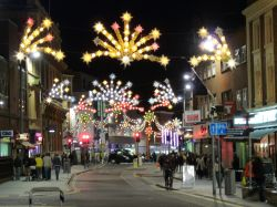 Leicesters Christmas lights