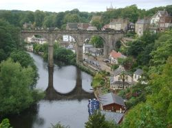 Knaresborough Viaduct from the Castle