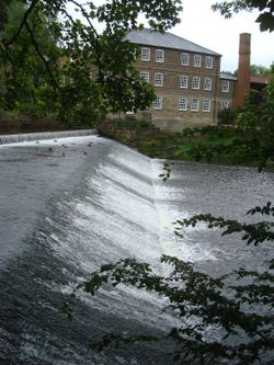 Weir and Castle Mill