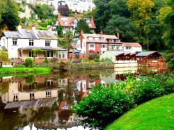 Reflections on the River Nidd at Knaresborough