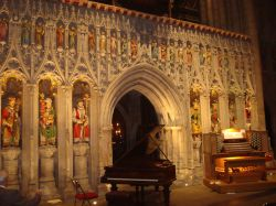 The Cathedral pulpitum screen