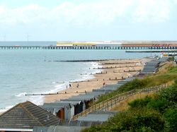 The beach at Walton On The Naze