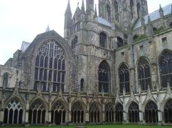 Canterbury Cathedral from the Cloisters