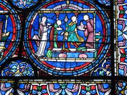 Stained Glass Window, Canterbury Cathedral