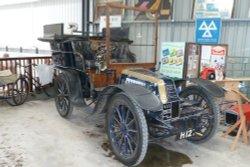 1903 Richard Brasier vintage vehicle.