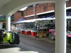 Street market, Red Sreet, Carmarthen Wallpaper