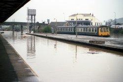 Carmarthen Station Wallpaper
