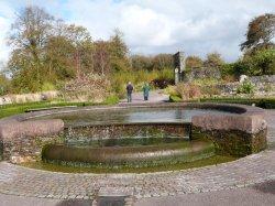 The Mirror Pool, National Botanic Garden of Wales Wallpaper