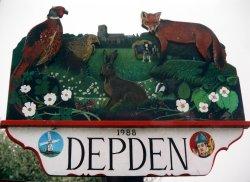 Depden Village Sign