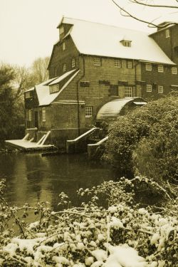 Houghton Mill, Houghton, Cambridgeshire