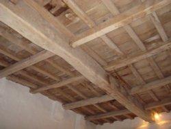 Medieval oak roof