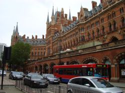 Euston Road and St Pancras Chambers