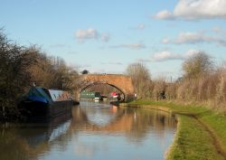 Oxford canal Wallpaper
