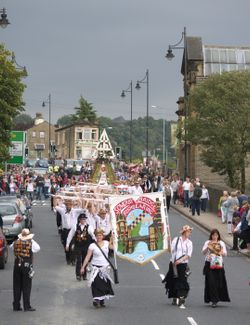 Sowerby Bridge Rushbearing Festival Weekend