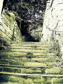 Steps leading up to the town of Knaresborough