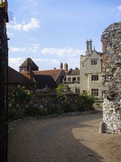 Near the Cathedral, Canterbury