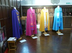 Leicester Cathedral Copes