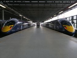 The Java train at St. Pancras for Kent