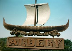 Aldeby Village Sign
