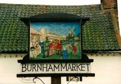 Burnham Market Village Sign