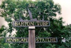 Barton Turf  Village Sign