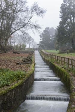 Sywell Weir from the bottom by the bend