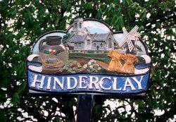 Hinderclay Village Sign