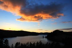 Sunset over Lake Vyrnwy 2
